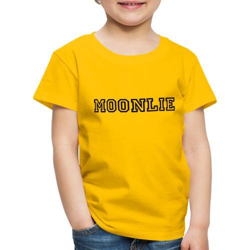 Moonlie - Premium-T-shirt barn