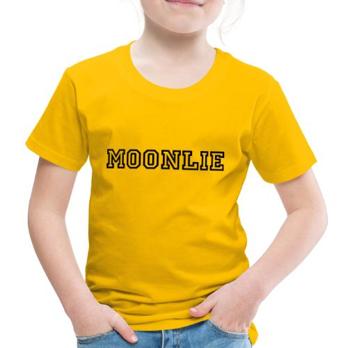 Moonlie - Premium-T-shirt barn
