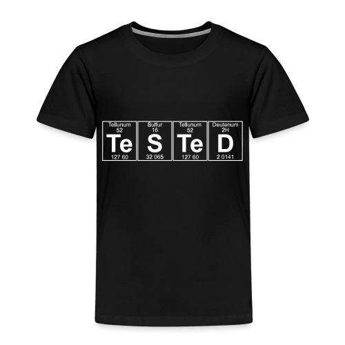 Te-S-Te-D (tested) (small) - Kids' Premium T-Shirt