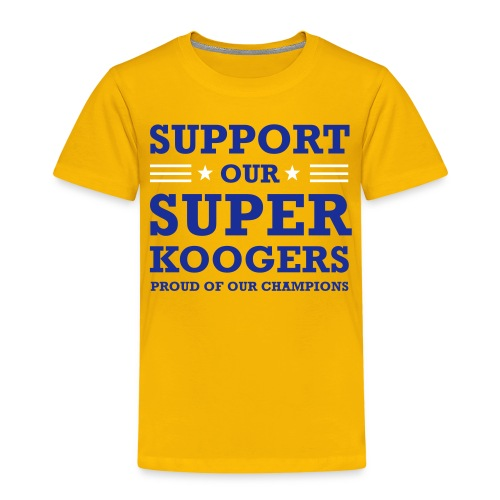 support our superkoogers - Kinderen Premium T-shirt