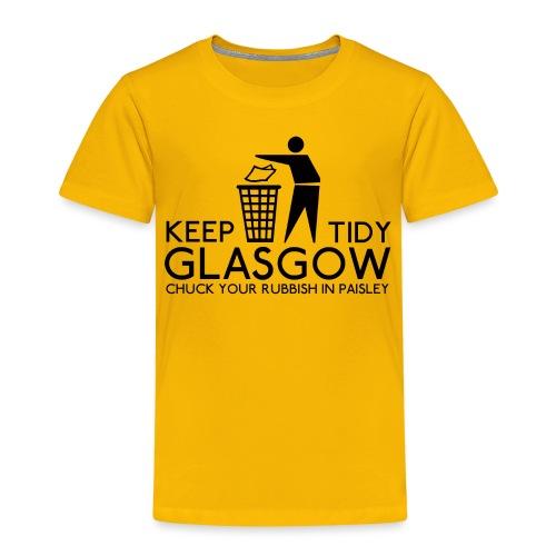 Keep Glasgow Tidy - Kids' Premium T-Shirt