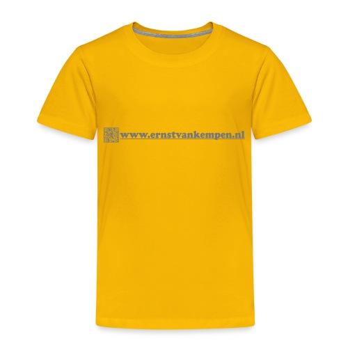 Negative QR www ernstvankempen nl - Kinderen Premium T-shirt