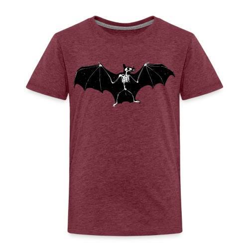 Bat skeleton #1 - Kids' Premium T-Shirt