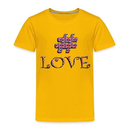 hashtag love - T-shirt Premium Enfant