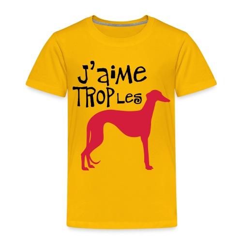 Galgo Gemtro - T-shirt Premium Enfant