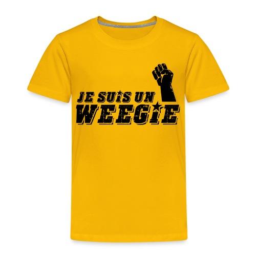 Je Suis Un Weegie - Kids' Premium T-Shirt