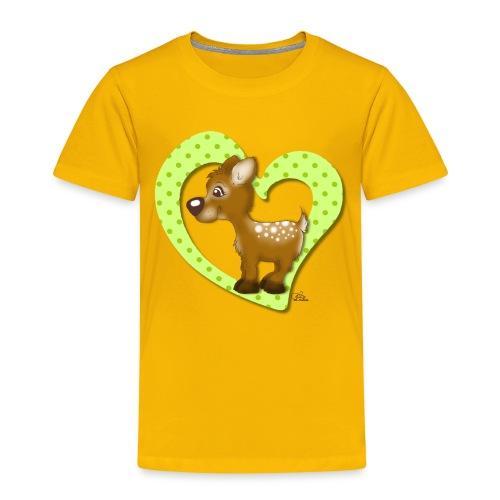 Kira Kitzi Limone - Kinder Premium T-Shirt