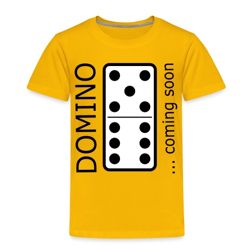 domino11 coming soon - Kinder Premium T-Shirt