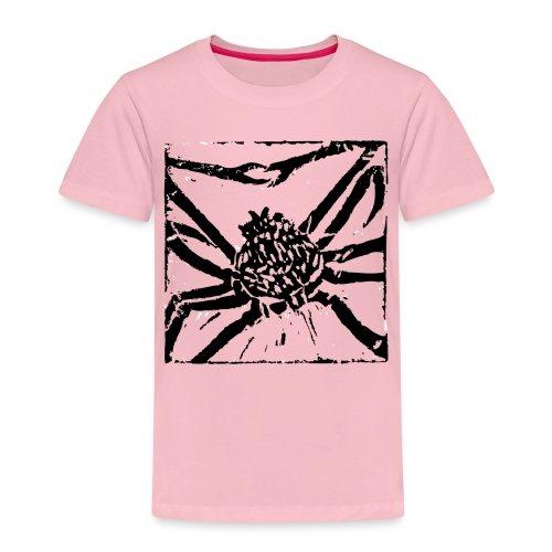 Museum Giant Spider Crab - Kids' Premium T-Shirt