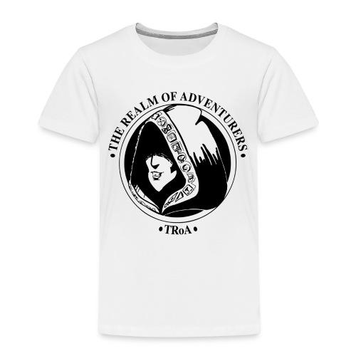 TRoA Logo Sort - Børne premium T-shirt