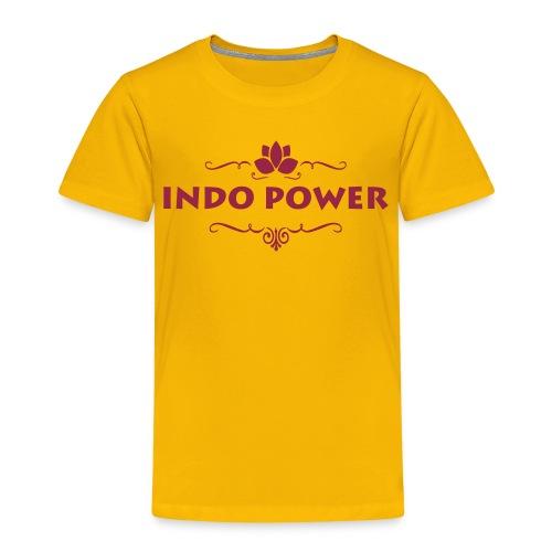 indo lotus1 - Kinderen Premium T-shirt