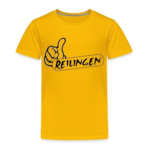 Daumen hoch für Reilingen - Kinder Premium T-Shirt