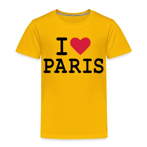 I Love Paris 1 - T-shirt Premium Enfant