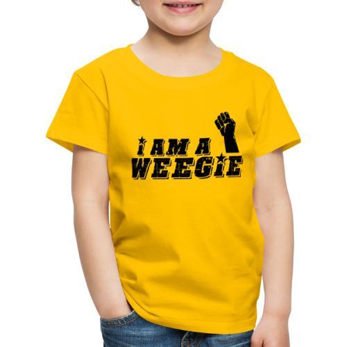 I Am A Weegie - Kids' Premium T-Shirt