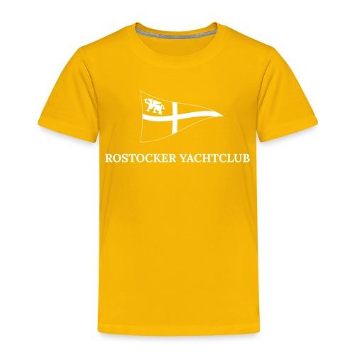 ROYC Logo einfarbig mit Schriftzug - Kinder Premium T-Shirt