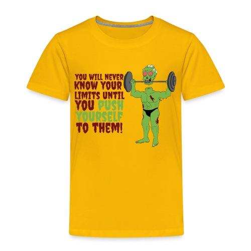 Push yourself - Kids' Premium T-Shirt