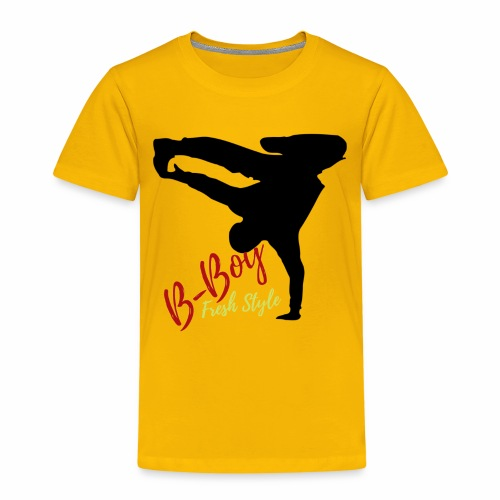 B BOY Fresh Style - Kinder Premium T-Shirt