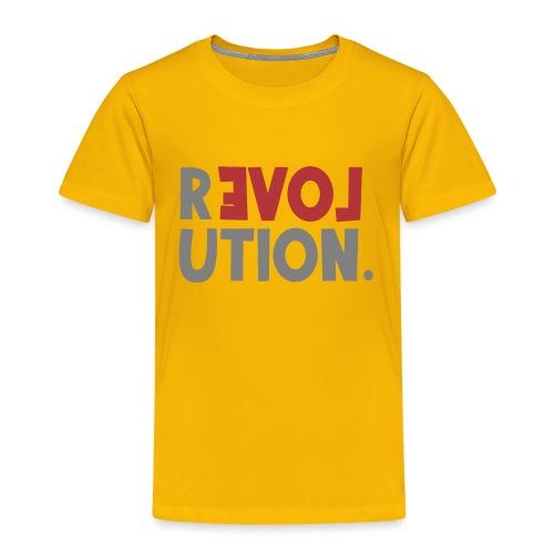 Revolution Love Sprüche Statement be different - Kinder Premium T-Shirt