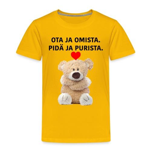 OTA JA OMISTA - Lasten premium t-paita