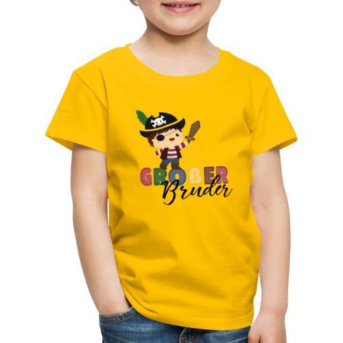 Großer Bruder Piraten - Kinder Premium T-Shirt