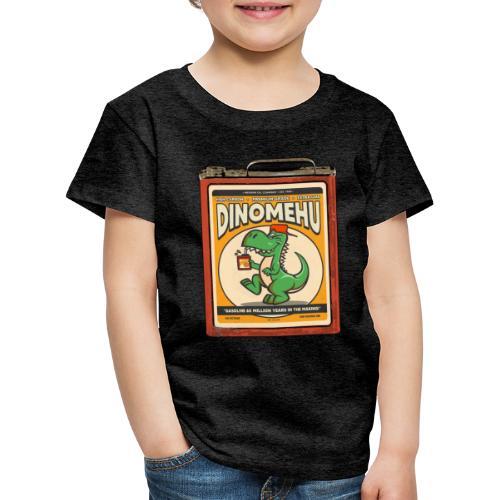 Dinomehu -kanisteri - Lasten premium t-paita