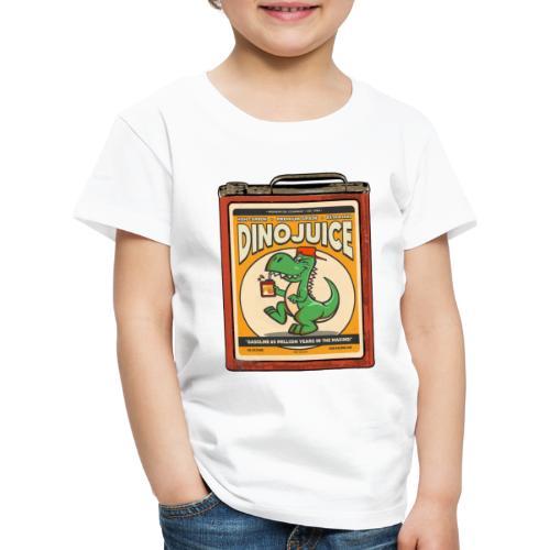 Dinojuice gas canister - Lasten premium t-paita