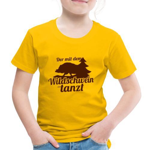 Wildschwein - Kinder Premium T-Shirt