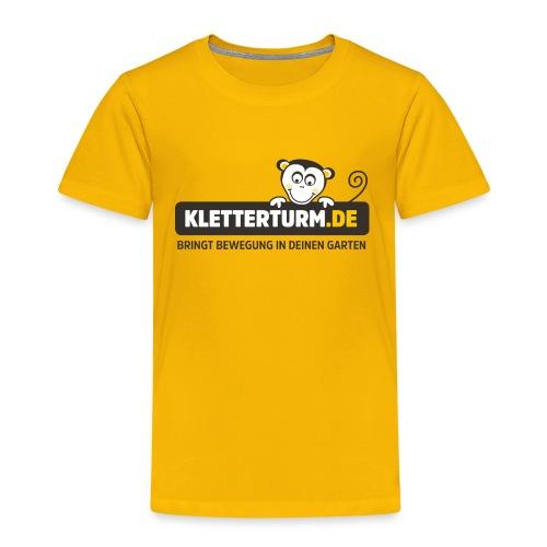 kletterturm de logo - Kinder Premium T-Shirt