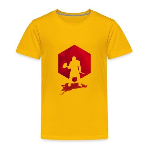 Brutal Barbarian - Dungeons and Dragons en d20 - Kinderen Premium T-shirt