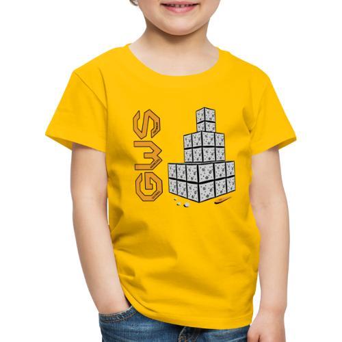 Bonhomme de neige moderne - T-shirt Premium Enfant