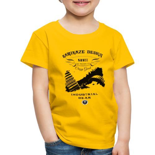 Skull industrial gear - Kids' Premium T-Shirt