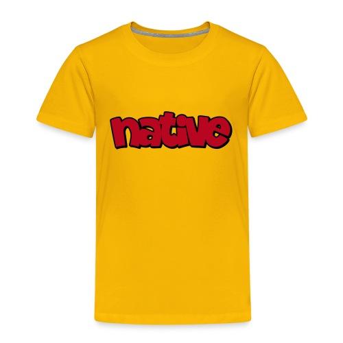 native shadow - Kinder Premium T-Shirt