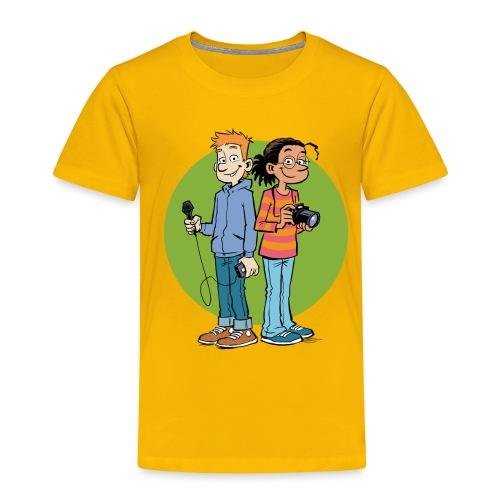 Teenager Premium Langarmshirt Reporter - Kinder Premium T-Shirt