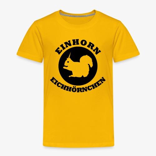 Einhorn Eichhörnchen - Kinder Premium T-Shirt