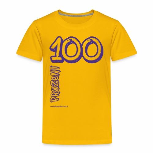 100Prozent blau - Kinder Premium T-Shirt