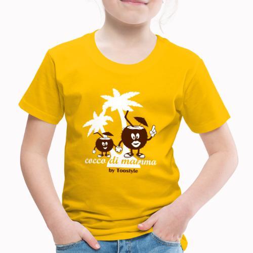 cocco di mamma tra le palme - Maglietta Premium per bambini
