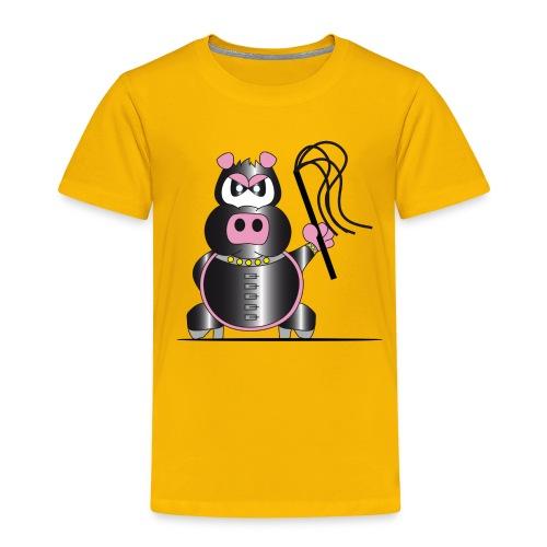 Schweinchen Sado - Kinder Premium T-Shirt