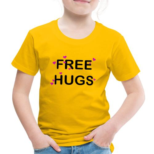 Free HUG Coeur Rose - T-shirt Premium Enfant
