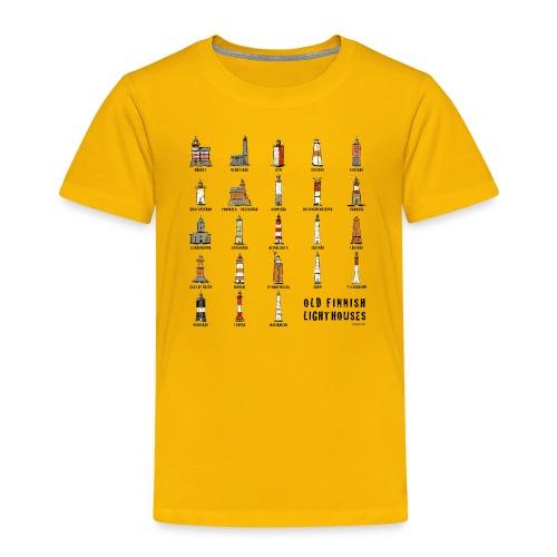 SUOMEN MAJAKKA Paidat, tekstiilit ja lahjatuotteet - Lasten premium t-paita