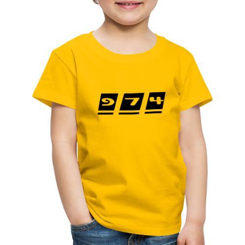 974, La Réunion - T-shirt Premium Enfant