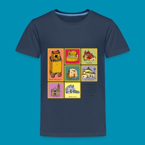monumenti chiese png - Maglietta Premium per bambini