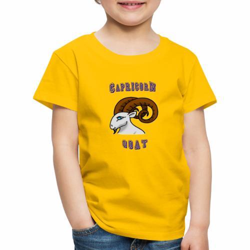 Capricornio, Cabra - Camiseta premium niño