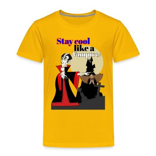 Vampir, Dracula, - Kinder Premium T-Shirt