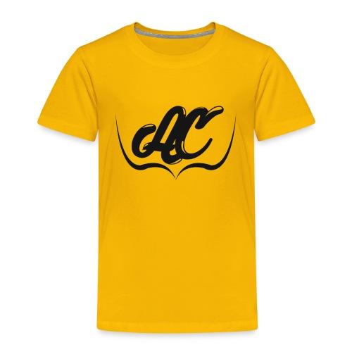 Logo Personal AC CLOTH Negro - Camiseta premium niño