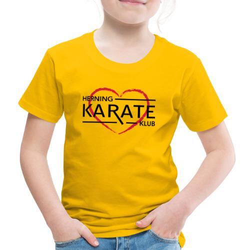 HKK Hjerte - Børne premium T-shirt