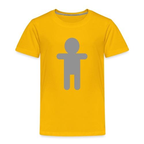 Picto Homme - Gris - T-shirt Premium Enfant