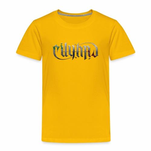 Cityard Ambigram HeavyMetal CMYK - Børne premium T-shirt