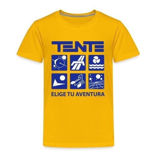 Series de TENTE: Elige tu aventura - Camiseta premium niño