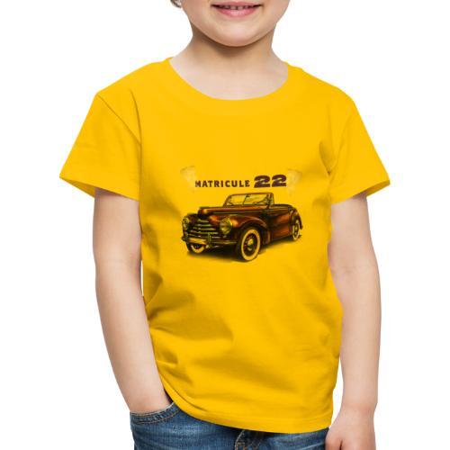 matricule 22 - T-shirt Premium Enfant