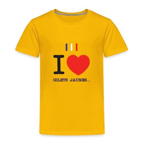 giletsjaunes - T-shirt Premium Enfant